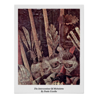 The Intervention Of Micheletto By Paolo Uccello Posters