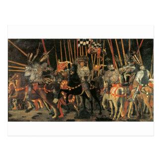 The intervention of Micheletto Cotignola by Paolo Postcard