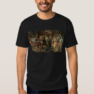 The intervention of Micheletto Cotignola by Paolo Tshirt