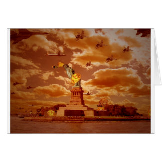 The Invasion Of NewYork Greeting Card