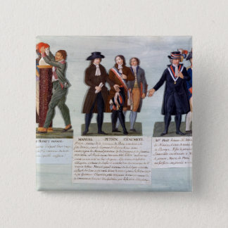 The Invention of the Red Hat,Manuel, Petion 15 Cm Square Badge