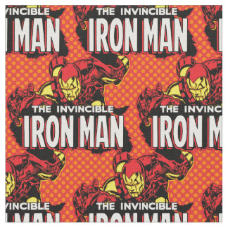 The Invincible Iron Man Graphic Fabric