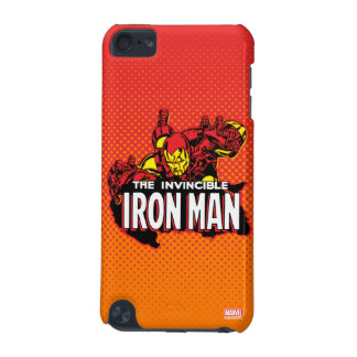 The Invincible Iron Man Graphic iPod Touch 5G Cases