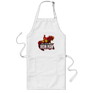 The Invincible Iron Man Graphic Long Apron