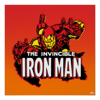 The Invincible Iron Man Graphic Poster