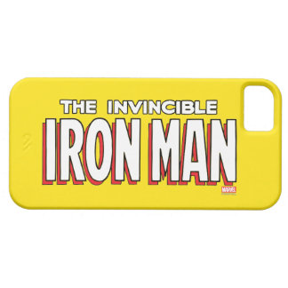 The Invincible Iron Man Logo iPhone 5 Cases