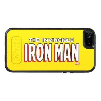 The Invincible Iron Man Logo OtterBox iPhone 5/5s/SE Case