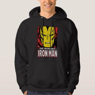 The Invincible Iron Man Retro Comic Icon Hoodie