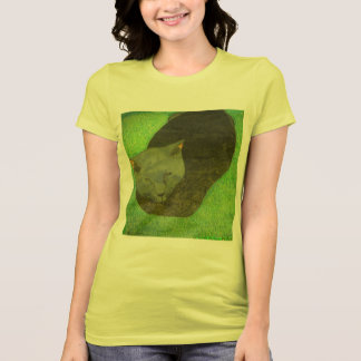 The Irina The Cat Sitting On The Grass Shirt