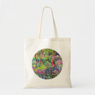 The Iris Garden at Giverny by Claude Monet Tote Bag