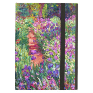 The Iris Garden by Claude Monet iPad Air Cover