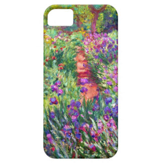 The Iris Garden by Claude Monet iPhone 5 Cover