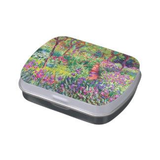 The Iris Garden by Claude Monet Jelly Belly Tins