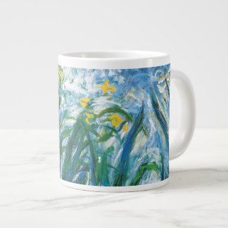 THe Irises Large Coffee Mug