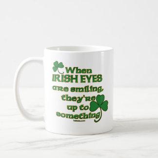 The Irish Eyes Joke on fun Irish Mugs #1