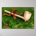 The Irish Pipe St. Patrick's Day Poster