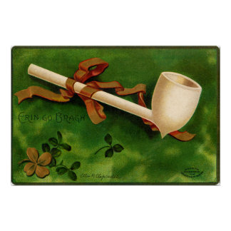 The Irish Pipe St. Patrick's Day Poster