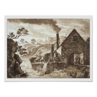 The Iron Forge between Dolgelli and Barmouth in Me Poster