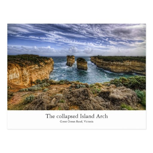 The Island Arch Postcards