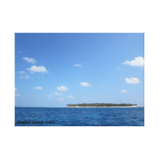The Island Canvas Print