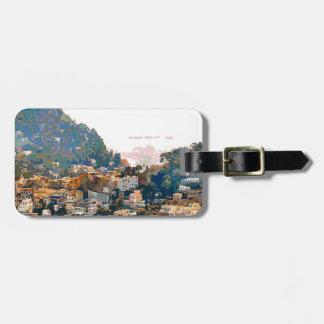 The Isle of Capri Luggage Tag