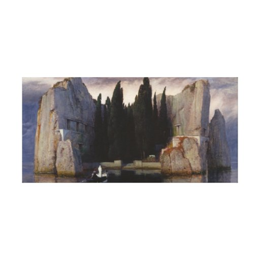 The Isle Of The Dead Canvas Prints