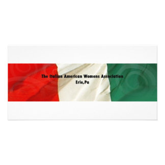 The Italian American Women's Association Picture Card