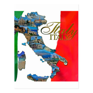 """The Italian """"Boot"""" Post Cards"""