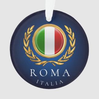 The Italian Flag - La bandiera d'Italia Ornament