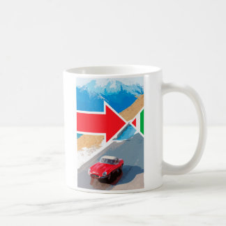 The Italian Job Jaguar Mug