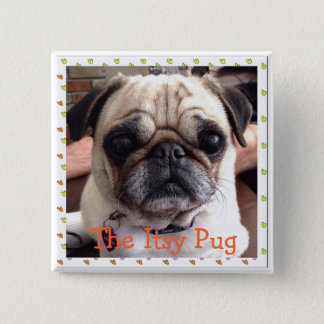 The Itsy Pug button