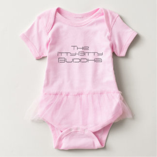 The Itty-Bitty Buddha - Baby Tutu Baby Bodysuit