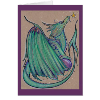 The Jade dragon card by Renee L. Lavoie
