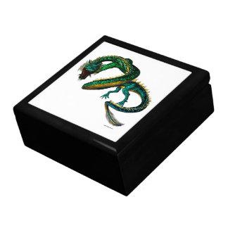 The Jade Dragon Large Square Gift Box