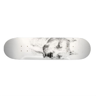 The Jaded Pitbull Skateboard