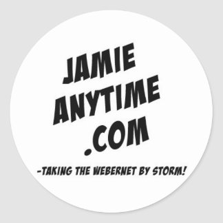 The Jamie Anytime Sticker Sheet
