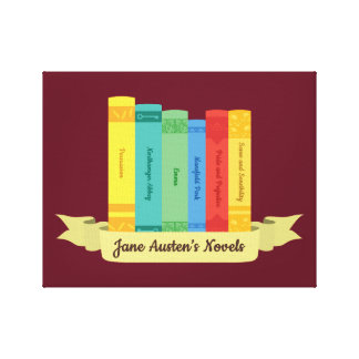 The Jane Austen's Novels III Canvas Print