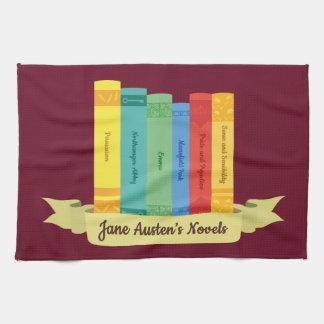 The Jane Austen's Novels III Tea Towel