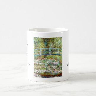 The Japanese Bridge 1899 Claude Monet Basic White Mug