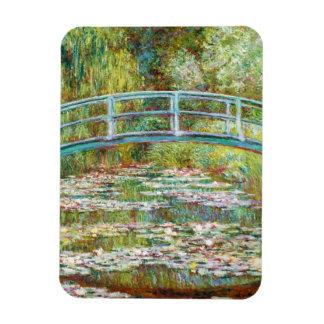 The Japanese Bridge 1899 Claude Monet Rectangular Magnets