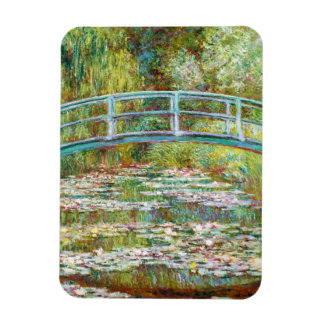 The Japanese Bridge 1899 Claude Monet Rectangular Photo Magnet