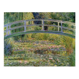The Japanese Bridge by Claude Monet Postcard