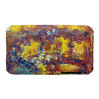 The Japanese Bridge Claude Monet iPhone 3 Case