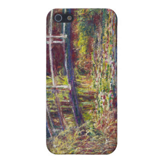 The Japanese Bridge Claude Monet cool, old, master iPhone 5/5S Cover