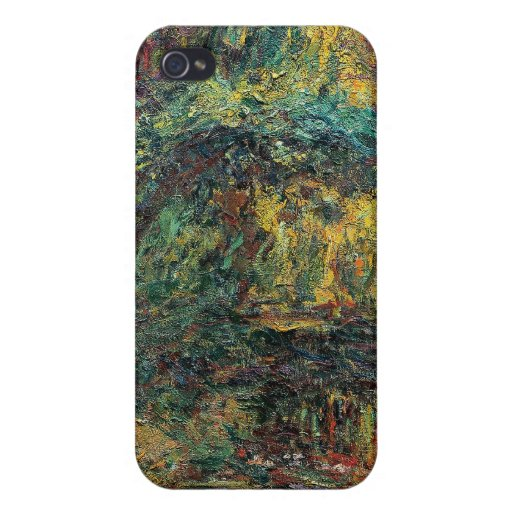 The Japanese Bridge - Claude Monet Cover For iPhone 4