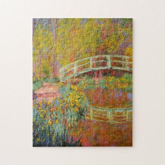 The Japanese Bridge Monet Fine Art Jigsaw Puzzle