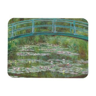The Japanese Footbridge, 1899 (oil on canvas) Rectangular Photo Magnet