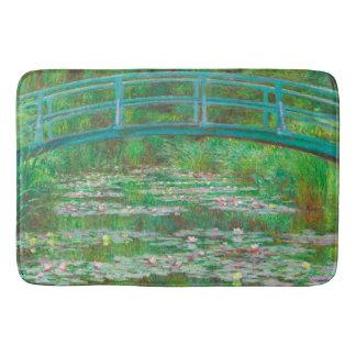 """The Japanese Footbridge"" Bath Mat"