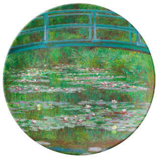 The Japanese Footbridge Decorative Porcelain Plate
