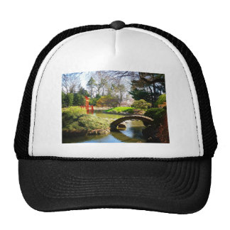The Japanese Hill and Pond Garden Trucker Hat